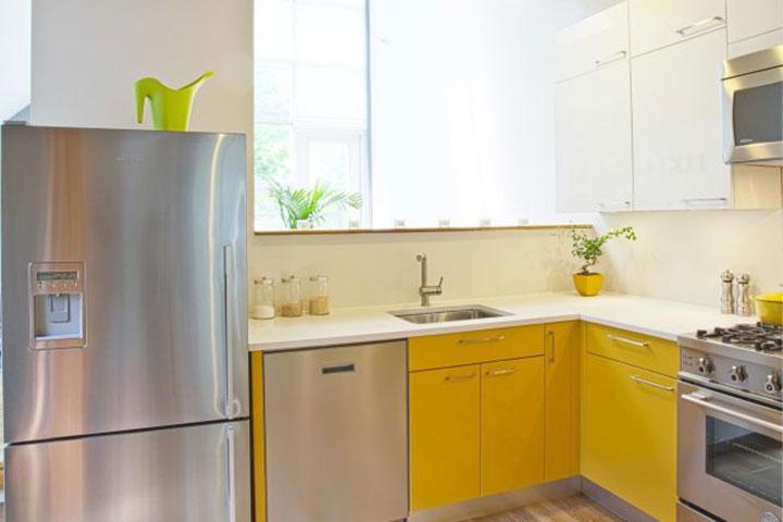 آشپزخانه کرومیومی در دکوراسیون مدرن