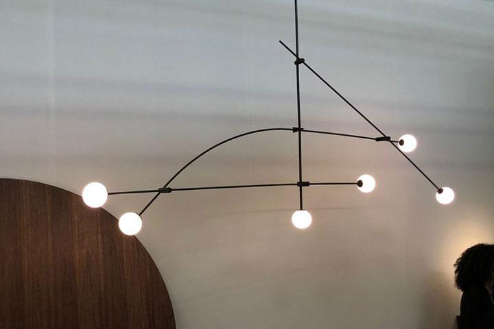 نورپردازی انتزاعی در دکوراسیون مدرن