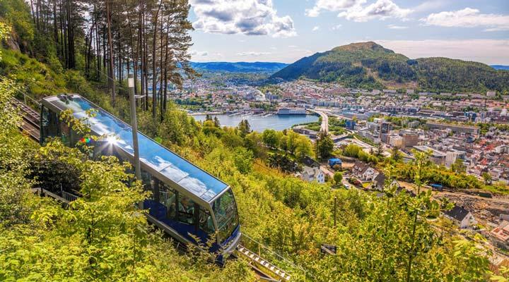 جاهای دیدنی نروژ - مسیرهای راهآهن
