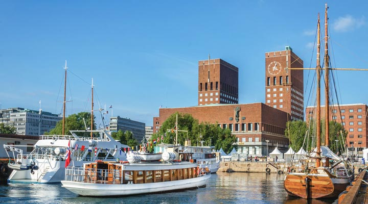جاهای دیدنی نروژ - تالار شهر اُسلو