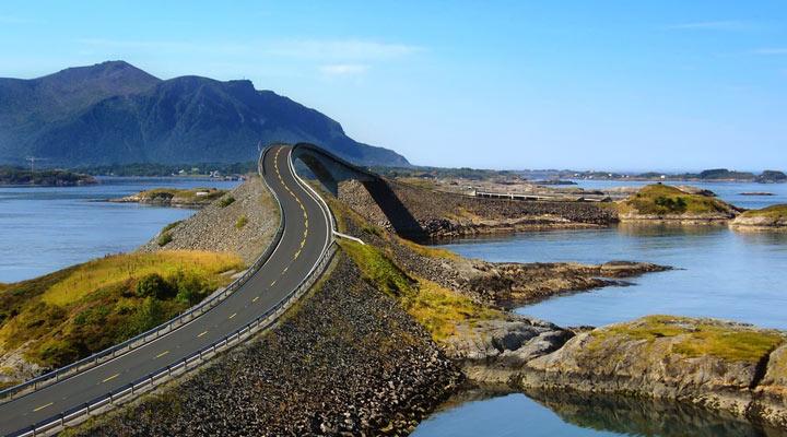جاهای دیدنی نروژ - جادهی اقیانوس اطلس