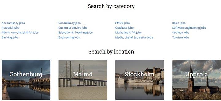 شرایط کار در سوئد - دسته بندی سایت لوکال