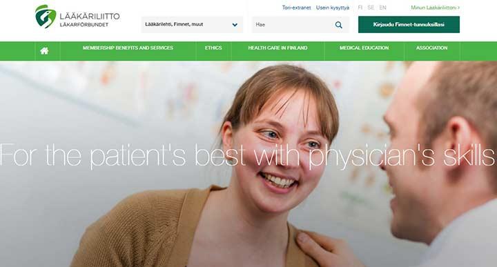 انجمن پزشکان فنلاند - تحصیل پزشکی در فنلاند