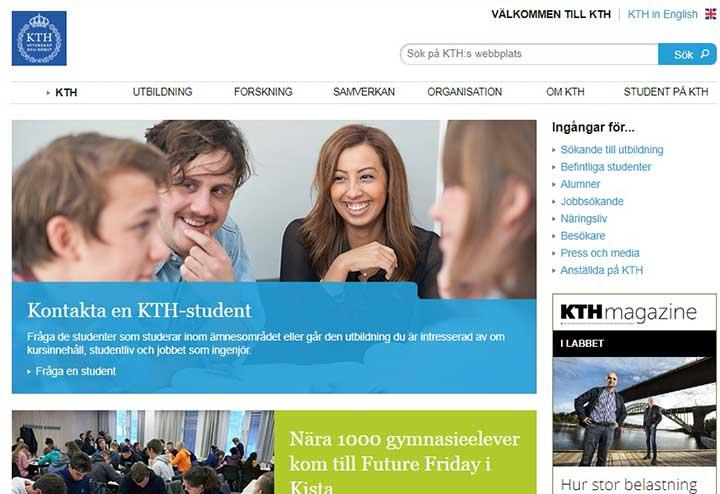 دانشگاه kTH - تحصیل رایگان در سوئد