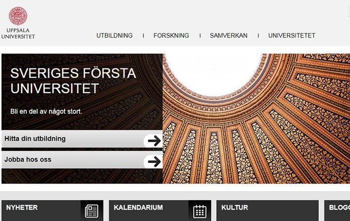 دانشگاه های سوئد - اوپسالا
