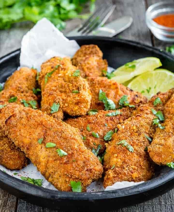 طرز تهیه مرغ سوخاری پخته کم کالری