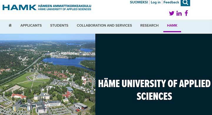 دانشگاه هامک - بهترین دانشگاه های فنلاند
