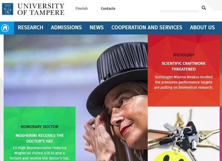 بهترین دانشگاه های فنلاند - دانشگاه TAMPERE