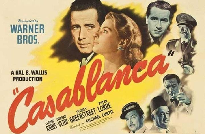 کازابلانکا یکی از بهترین فیلم های دنیا