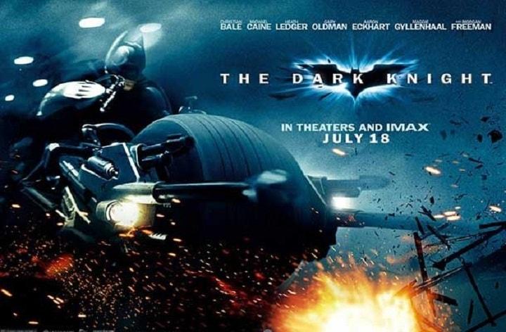 شوالیه تاریک یکی از بهترین فیلم های دنیا