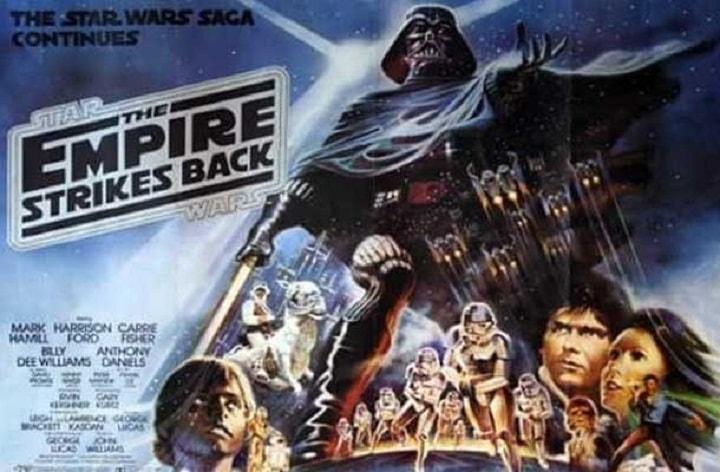 امپراطوری حمله می کند یکی از بهترین فیلم های دنیا