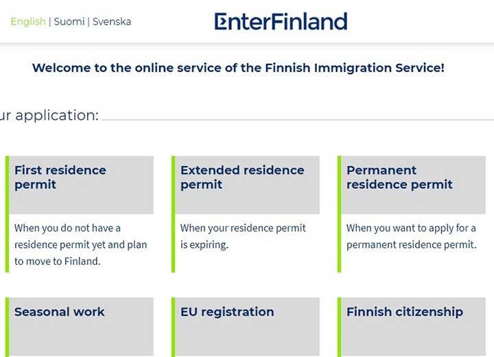 تحصیل در فنلاند - دریافت ویزا