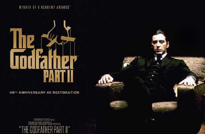 پدرخوانده قسمت دوم یکی از بهترین فیلم های دنیا