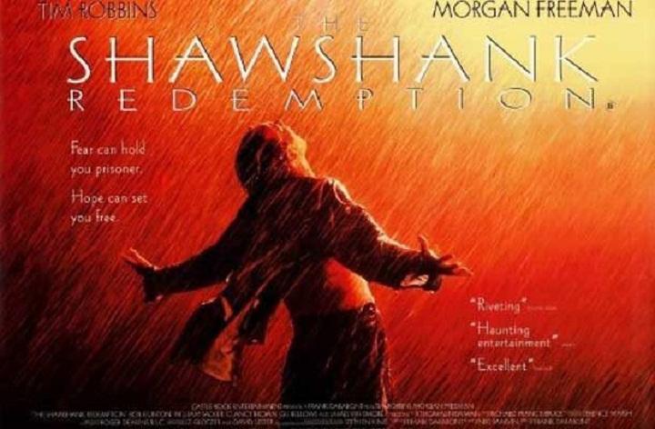 رستگاری شاوشنک یکی از بهترین فیلم های دنیا