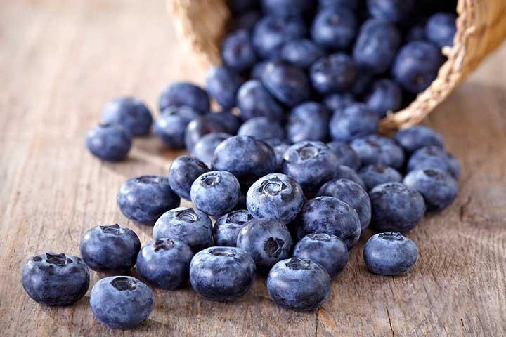 بلوبری، سرشار از فیبر - سالم ترین میوه های جهان