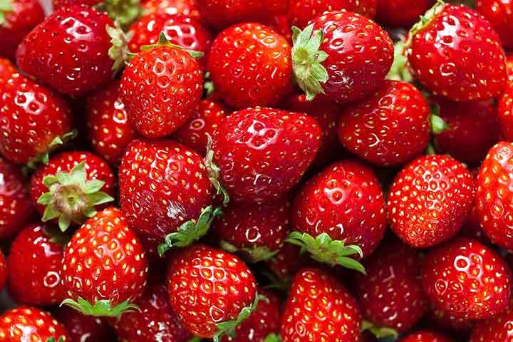توتفرنگی، سرشار از مواد معدنی - سالم ترین میوه های جهان