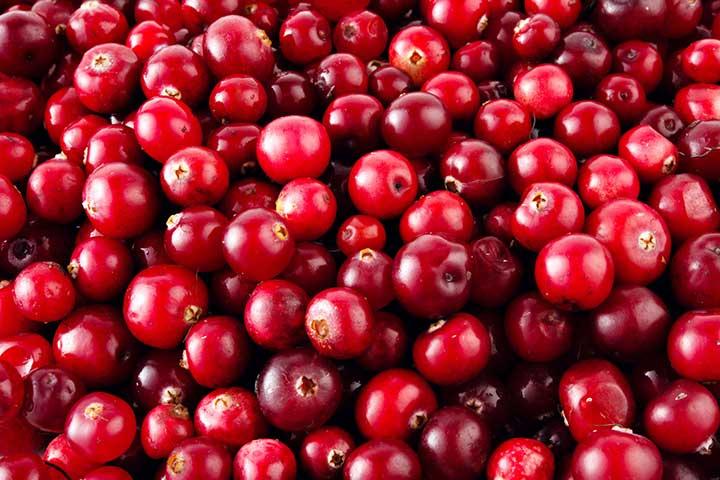 کرنبری، درمانکنندهٔ عفونتهای دستگاه ادراری - سالم ترین میوه های جهان