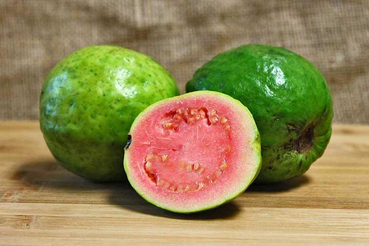 گواوا، منبع پکتین - سالم ترین میوه های جهان