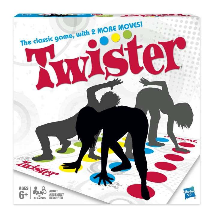 بهترین برد گیم های دنیا - توئیستر (Twister)