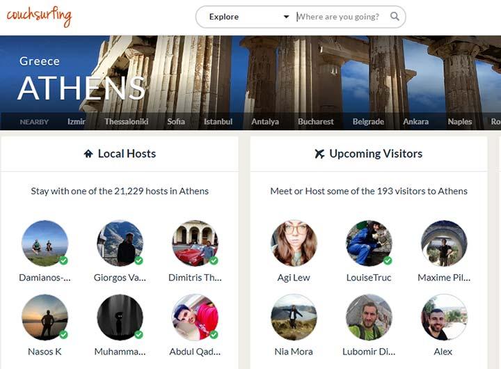 میزبان های یونانی - ویزای یونان