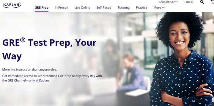 سایت KAPLAN منبعی برای شرکت در آزمون GRE