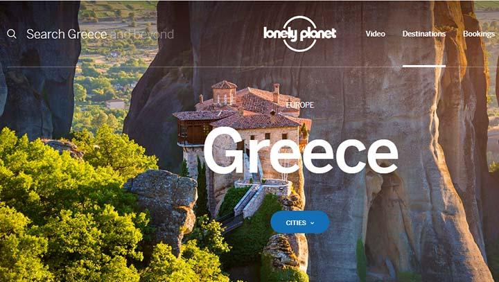 لونلی پلنتی - ویزای یونان