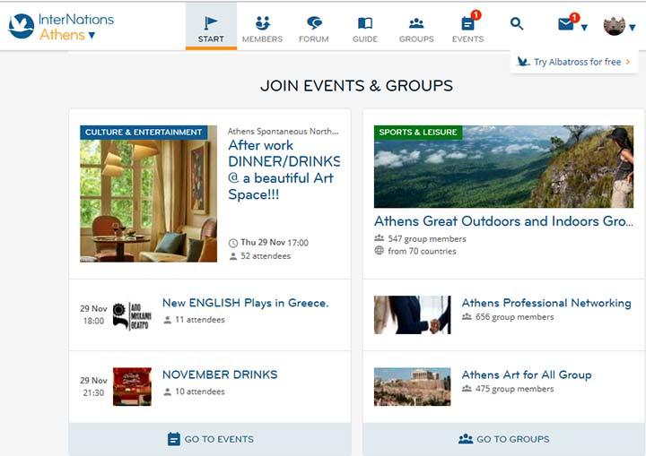 رویدادهای رایگان یونان - ویزای یونان