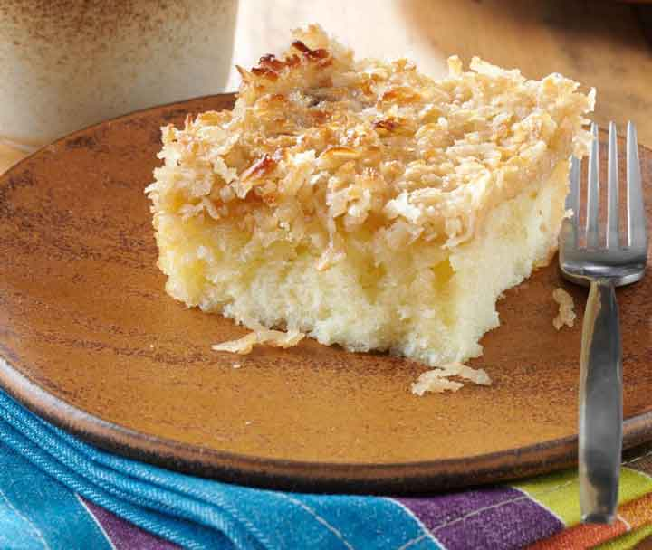 دسرهای محبوب -کیک خیس - بهترین دسرهای دنیا