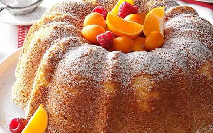 کیک پاوند - بهترین دسرهای دنیا