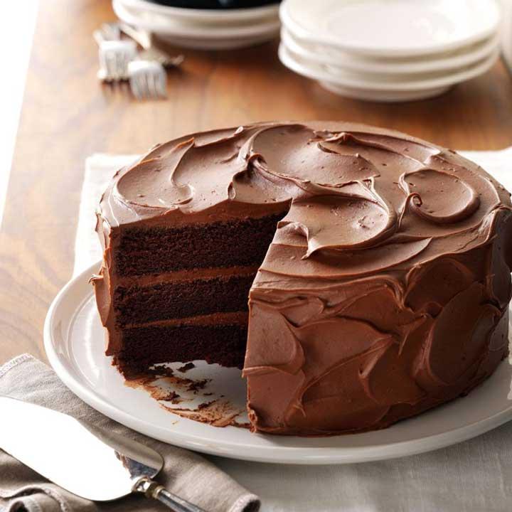 دسر کیک شکلاتی سندی - بهترین دسرهای دنیا