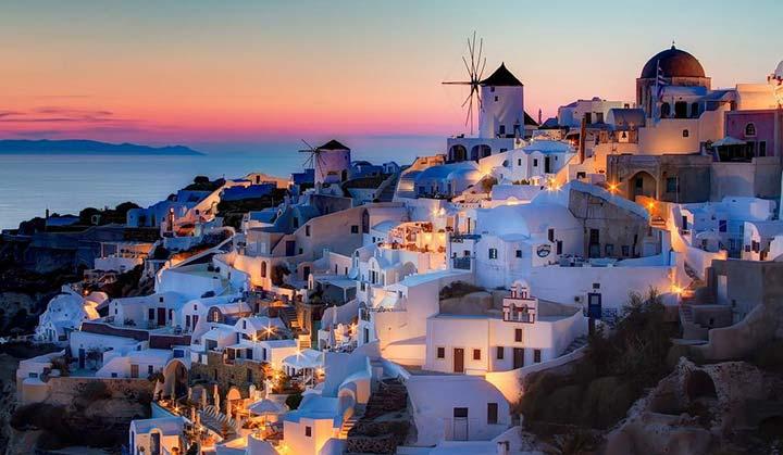 شب های یونان - ویزای یونان