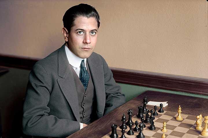خوزه رائول کاپابلانکا، از قهرمانان شطرنج جهان