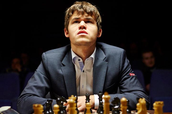 ماگنوس کارلسن، از قهرمانان شطرنج جهان