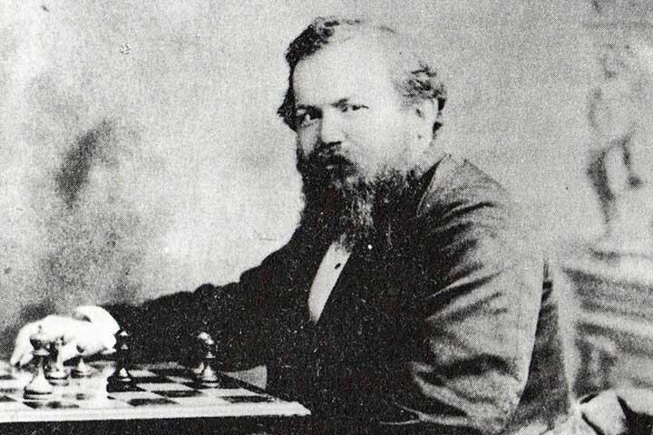 ویلهلم اشتاینیتس، از قهرمانان شطرنج جهان