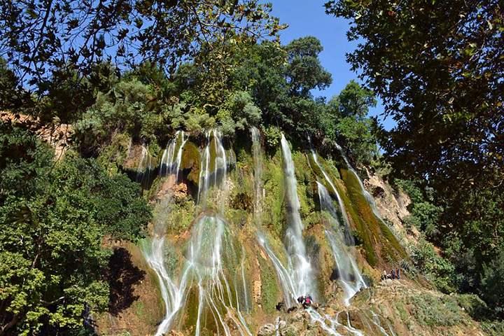 آبشار بیشه - جاهای دیدنی لرستان - عکس ایوب فارابی