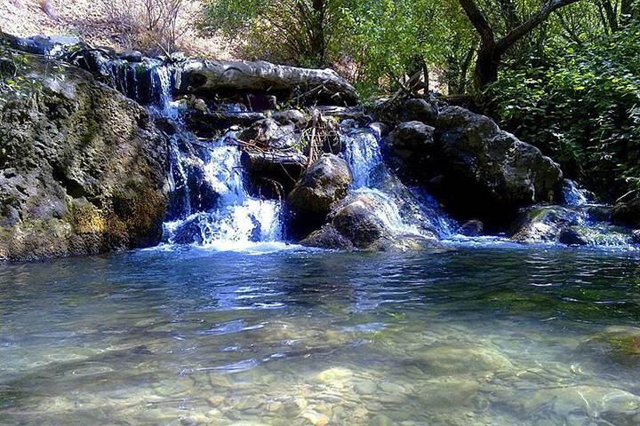 رود پایین آبشار مارگون - عکس افشین عزیزی