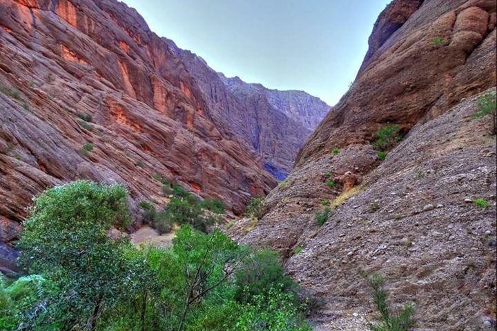 دره نی گاه از جاهای دیدنی لرستان - عکس بابک خداخواه
