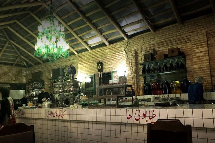 کافه روحی - کافه های تهران