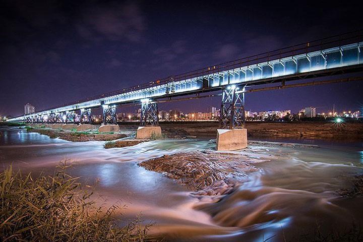 پل سیاه - عکس علی شکیبا