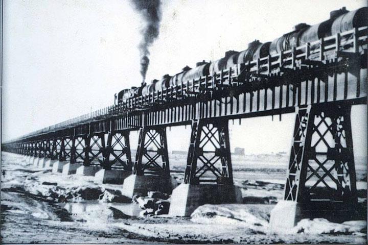 عکسی تاریخ از پل سیاه