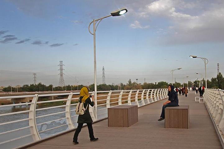 پل طبیعت اهواز - عکس سید علی موسوینژاد