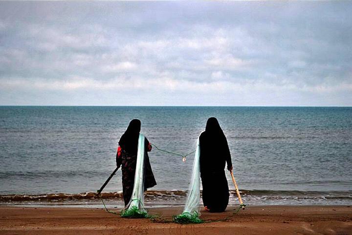 ساحل جنوب، بندر گناوه - عکس از مجید مظفری