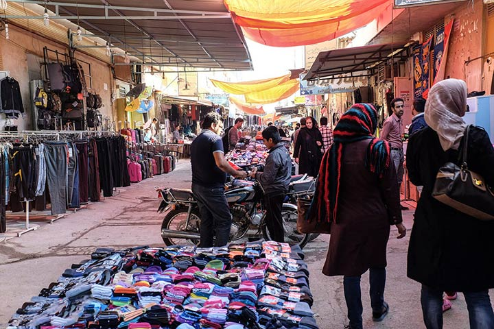 بازار بندر گناوه - عکس از میلاد رفعتی