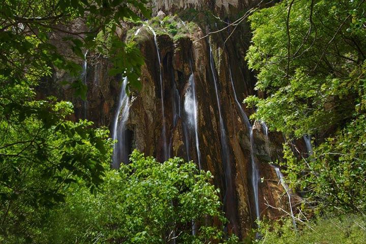آبشار مارگون - از آبشارهای چشمهای ایران