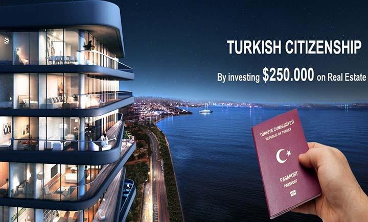 اقامت یک ساله ترکیه - تابعیت و شهروندی در ترکیه