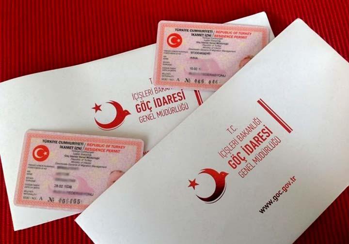 کارت اقامت- اقامت یک ساله ترکیه