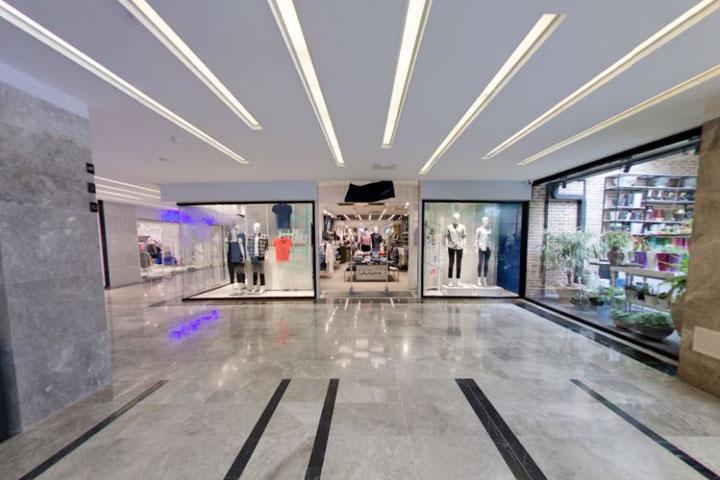 مراکز خرید تهران - فضای داخلی بام لند