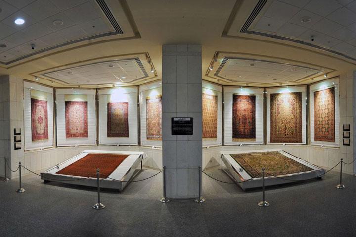 موزه فرش از مهم ترین موزه های تهران