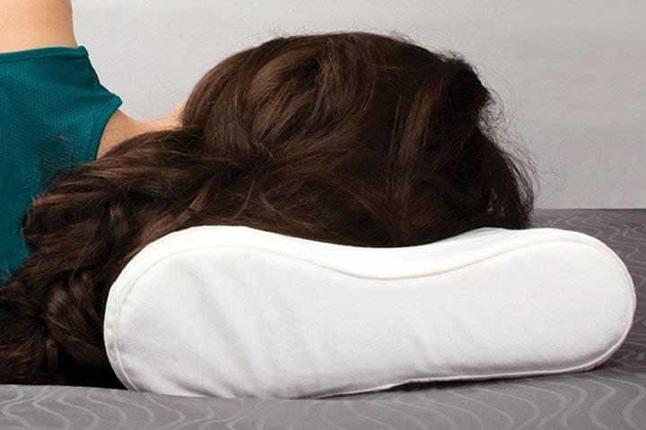پیشگیری از گردن درد بعد از خواب - بالش مناسب