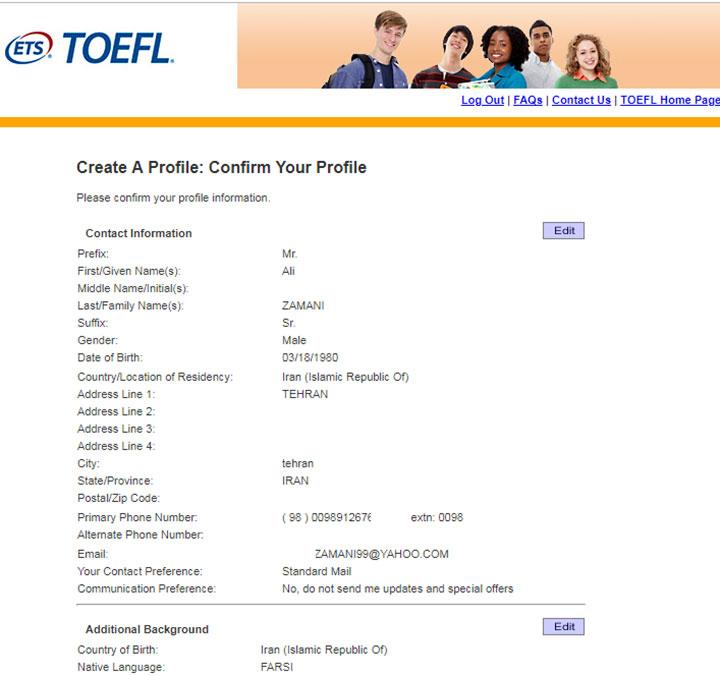 راهنمای ثبت نام تافل؛ راهنمای کامل شرکت در آزمون TOEFL اینترنتی
